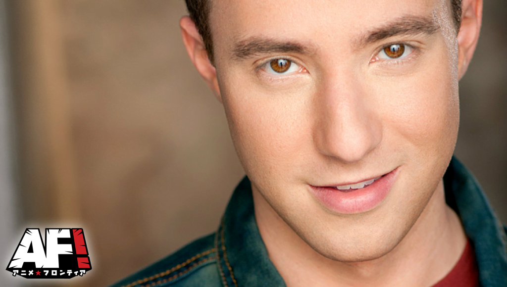 Voice Actor Max Mittelman At Anime Frontier Fort Worth Texas Convention