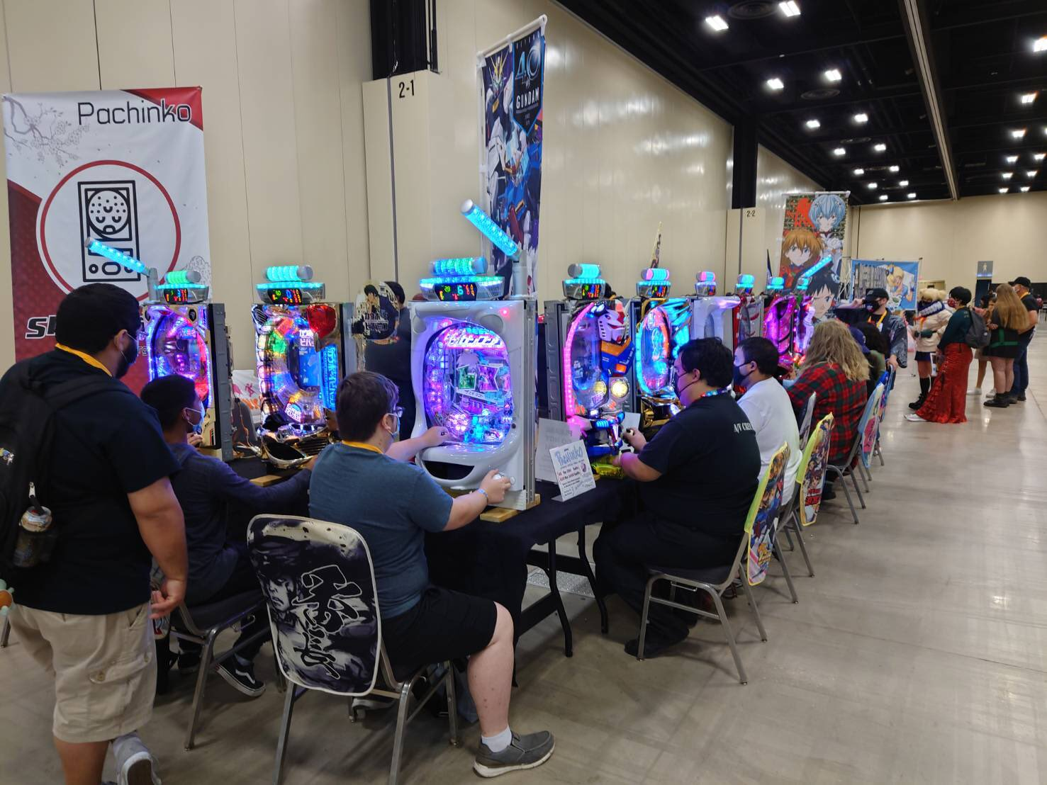 Game Room Anime Frontier Fort Worth, Texas Anime Convention